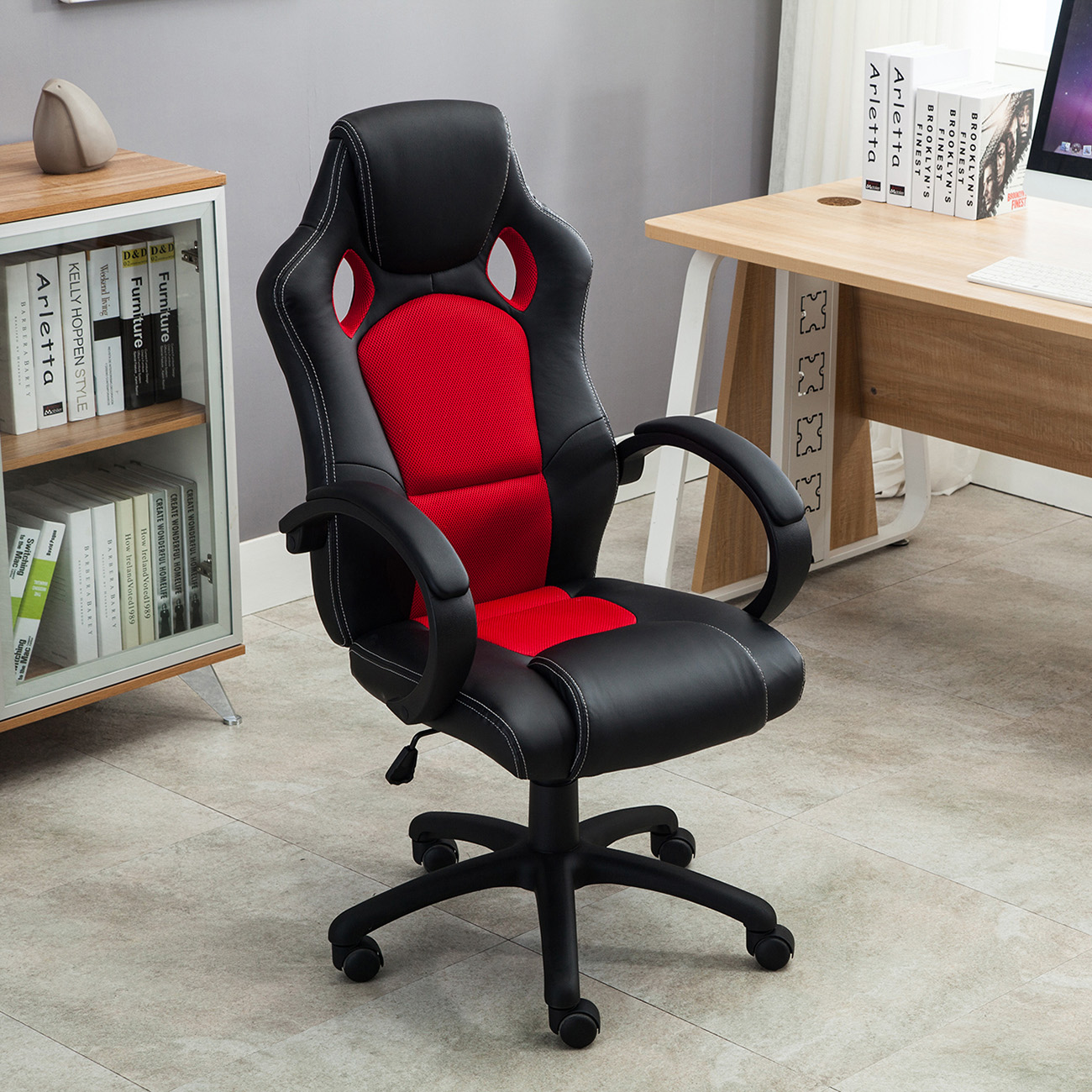 Office Chair Styles High Back Race Car Style Bucket Seat Office Desk Chair