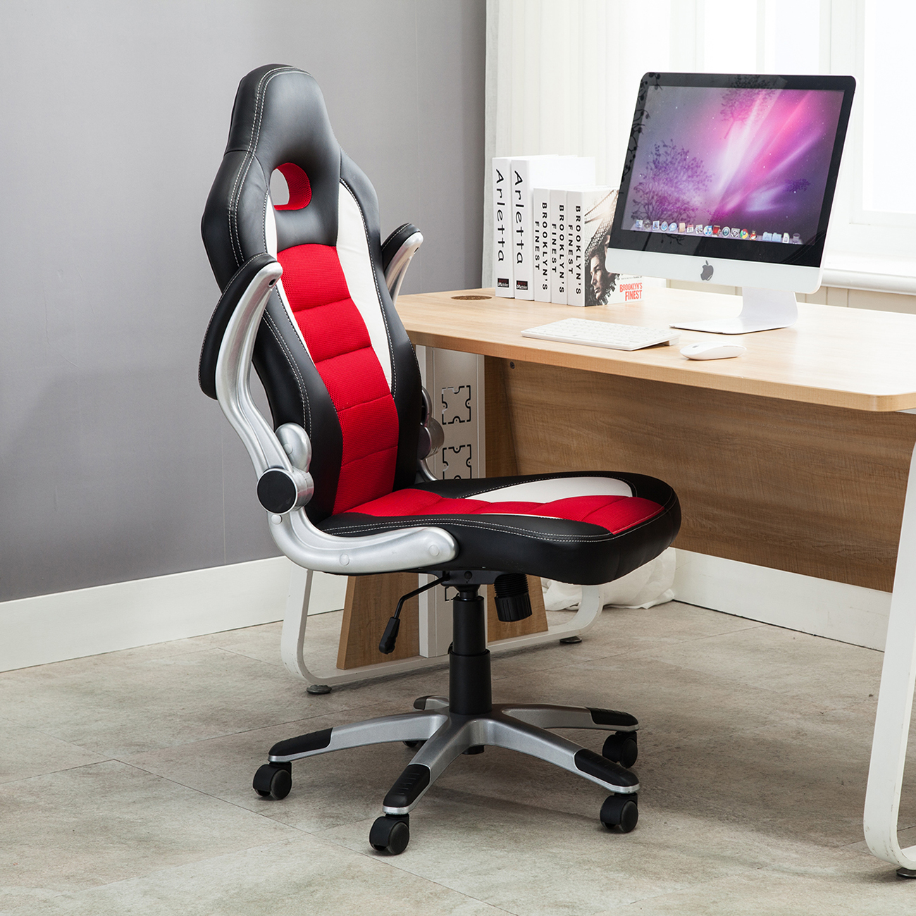 Office Chair Styles Office Chair Ergonomic Computer Pu Leather Desk Seat Race