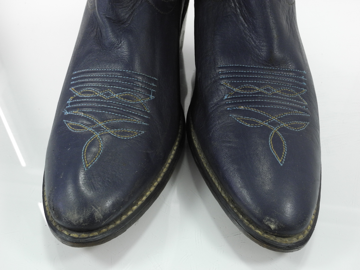 25 Cool Navy Blue Leather Boots Womens Sobatapkcom