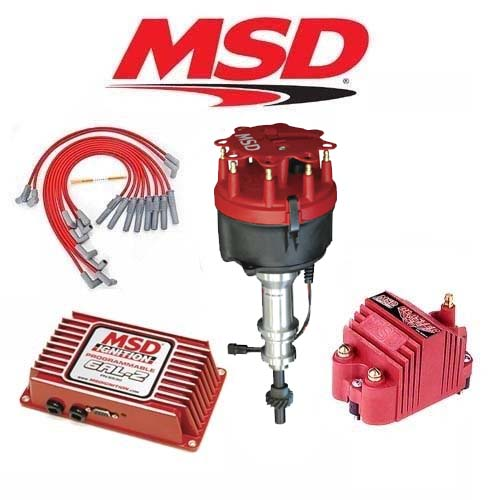 MSD 9268 Ignition Kit Programmable 6AL-2/Distributor/Wires/Coil Ford