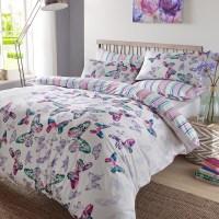 Dreamscene Duvet Cover With Pillowcase Polycotton Bedding ...