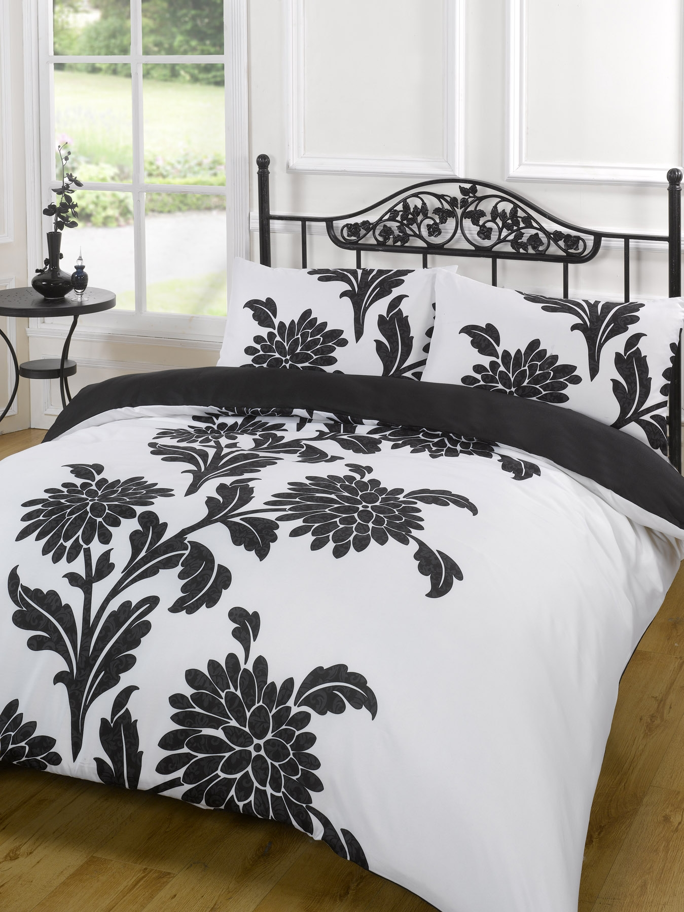 White Duvet Cover King Duvet Quilt Cover Bedding Set Black White Single Double