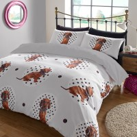 Animal Print Duvet Cover with Pilllowcase Bedding Set ...