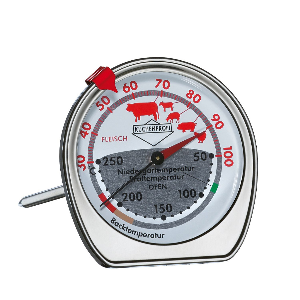 Küchenprofi Thermometer Digital Details About Küchenprofi Combination Roast Oven Thermometer Low Temperature Cooking