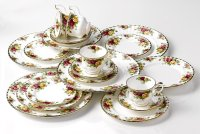 Royal Albert Old Country Roses 20-Piece Dinnerware Set ...