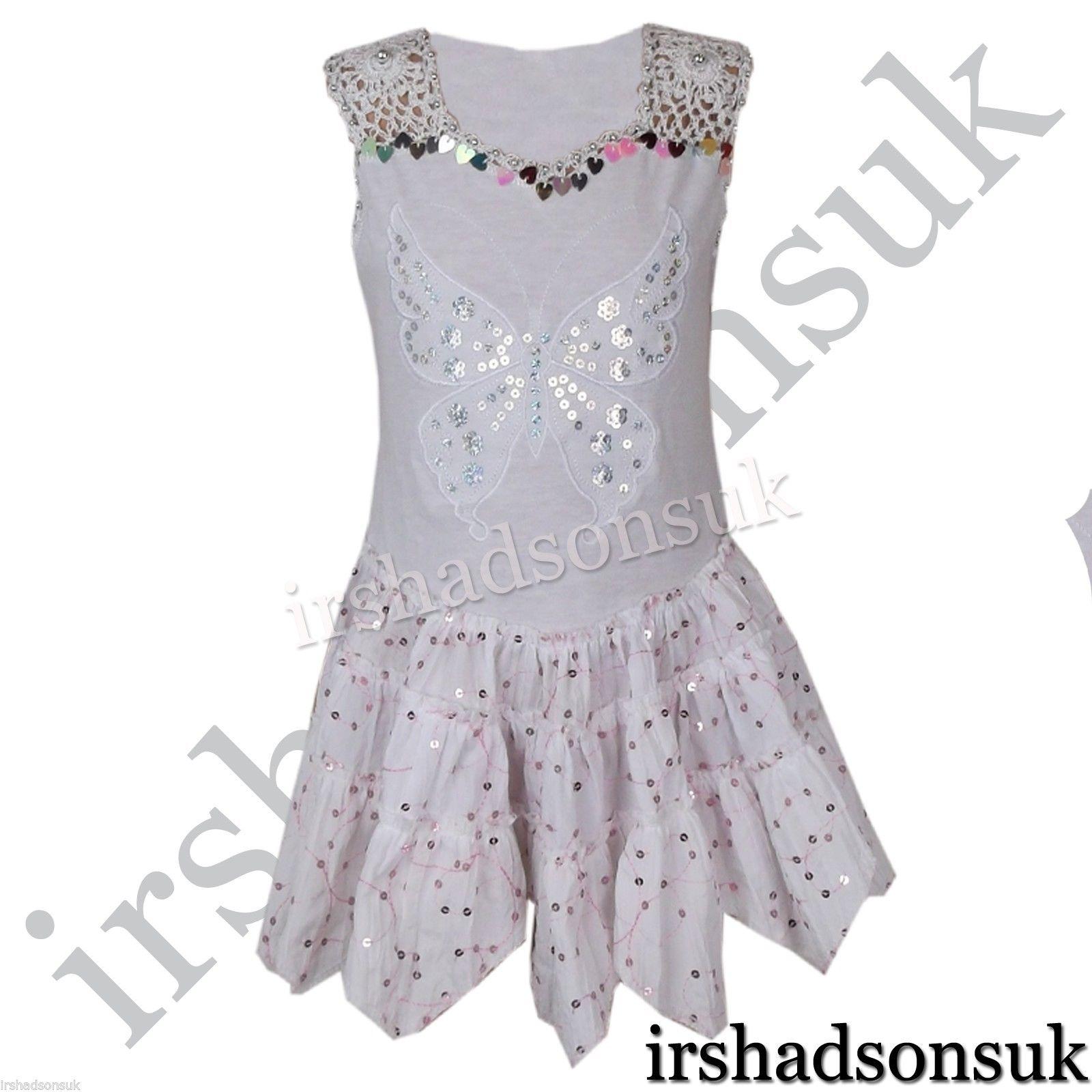 Particular New Kids Girls Summer Dresses Sequinned Butterfly Handkerchief Dress 6t Girls Summer Dresses Girls Summer Dresses Mid Length Justice wedding dress Girls Summer Dresses