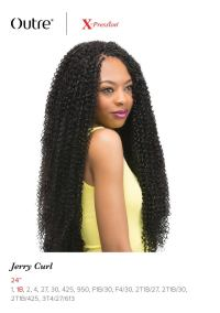 """JERRY CURL 24"""" BRAID - OUTRE X-PRESSION SYNTHETIC CROCHET ..."""