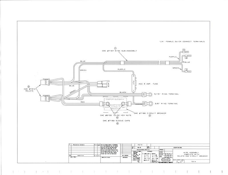 cmc wiring harness