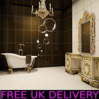 Large Big Bubbles Bathroom Wall Art Stickers Decal Vinyl ...