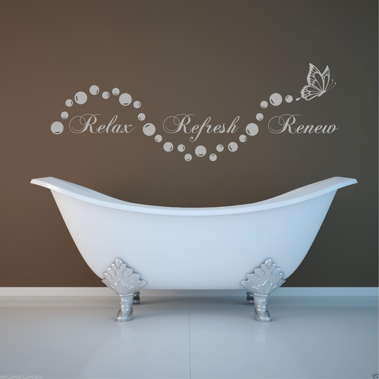 3d Muursticker Badkamer Relax Bathroom Bubbles En Suite Wall Art Sticker Quote