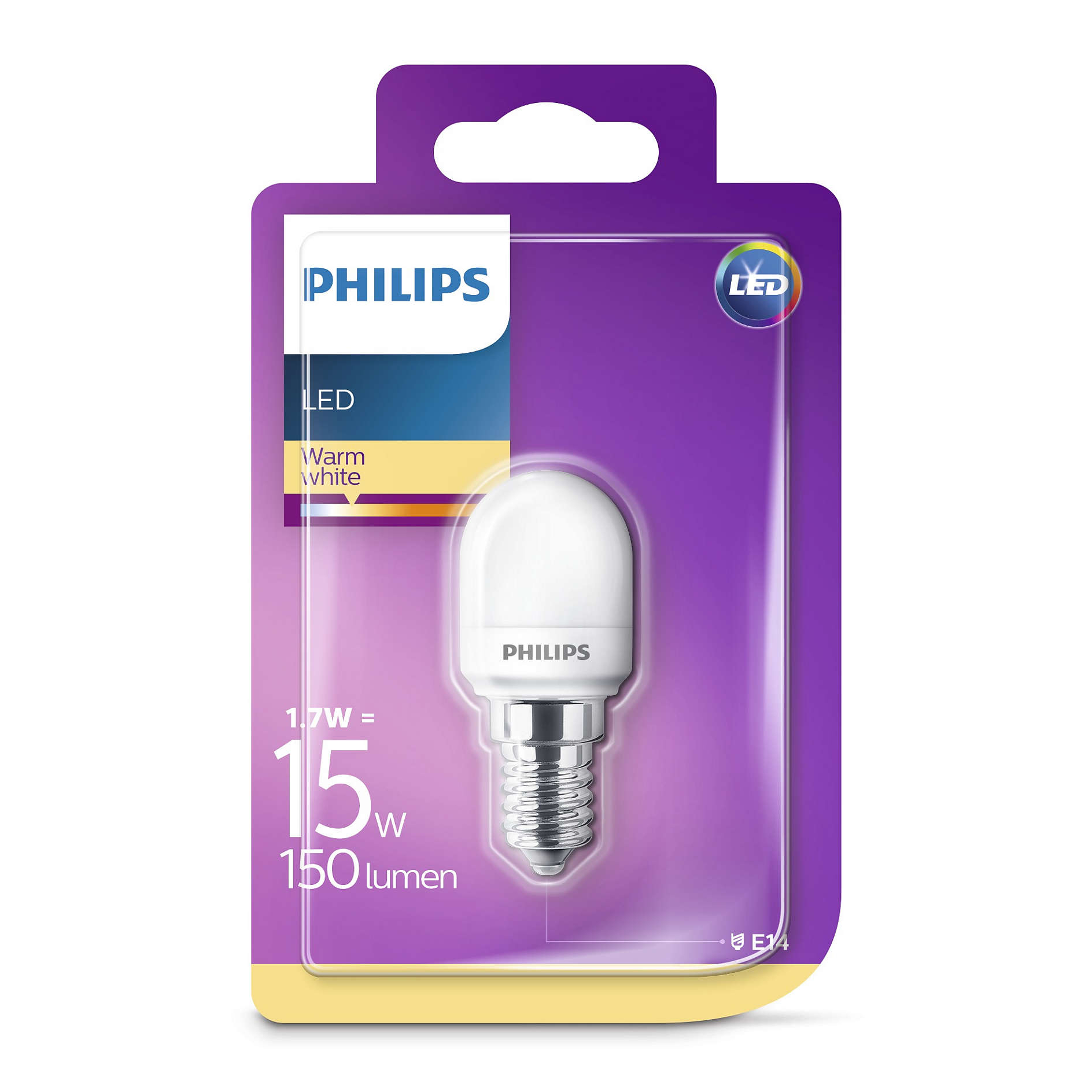 E14 Led Philips Details About Philips Led T25 Frosted E14 Edison 15w Appliance Fridge Freezer Light Bulb 150lm