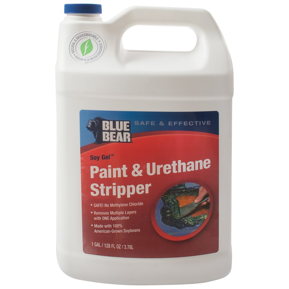 Paint Stripper Details About Blue Bear Bbrsg1g Paint And Urethane Remover Stripper 1 Gallon