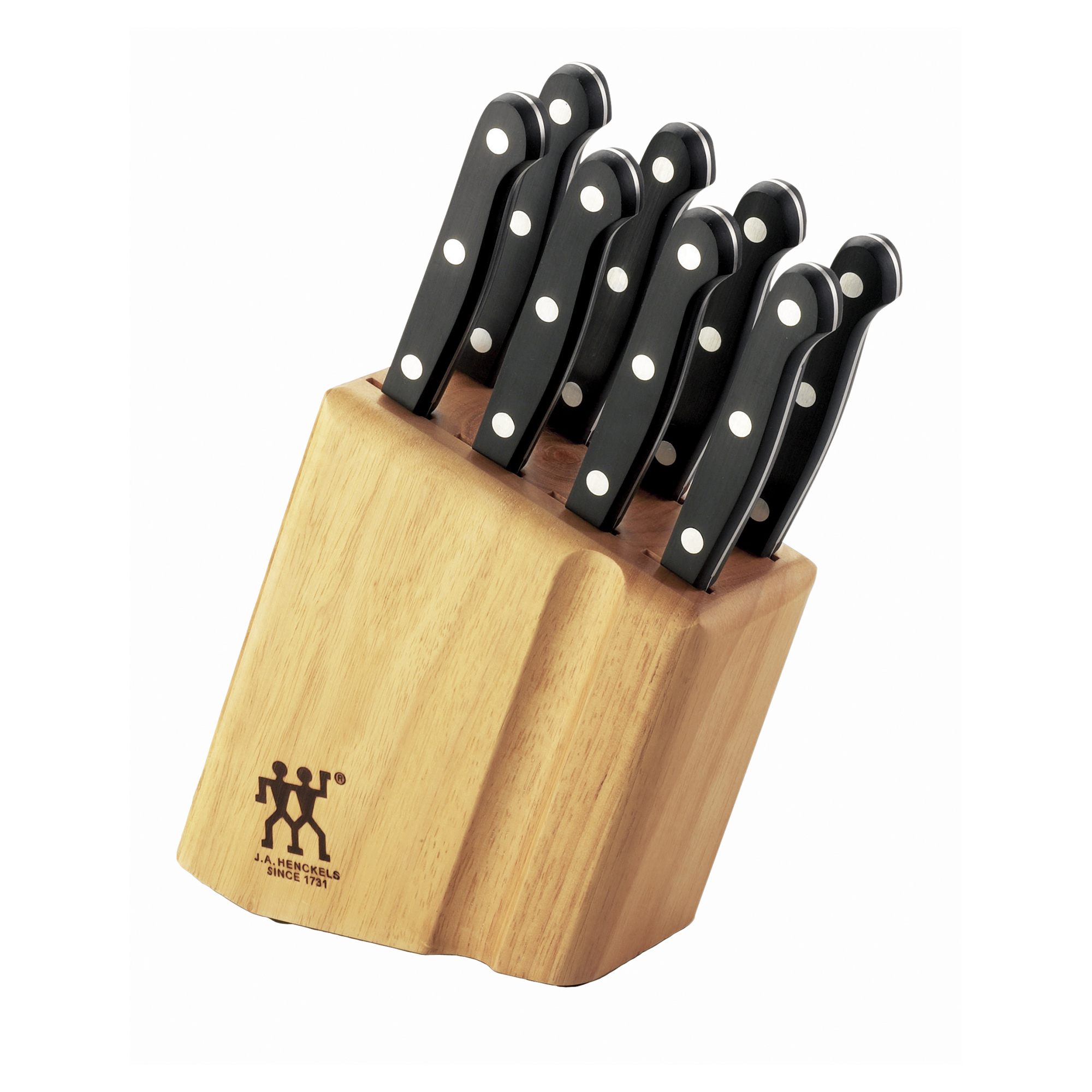 Zwilling Gourmet Messerblock 7-tlg Zwilling Twin Gourmet Classic 9 Pc Steak Knife Block Set