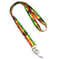 Ragga Bob Marley Lanyard Phone Charm Strap Keychain Key ...
