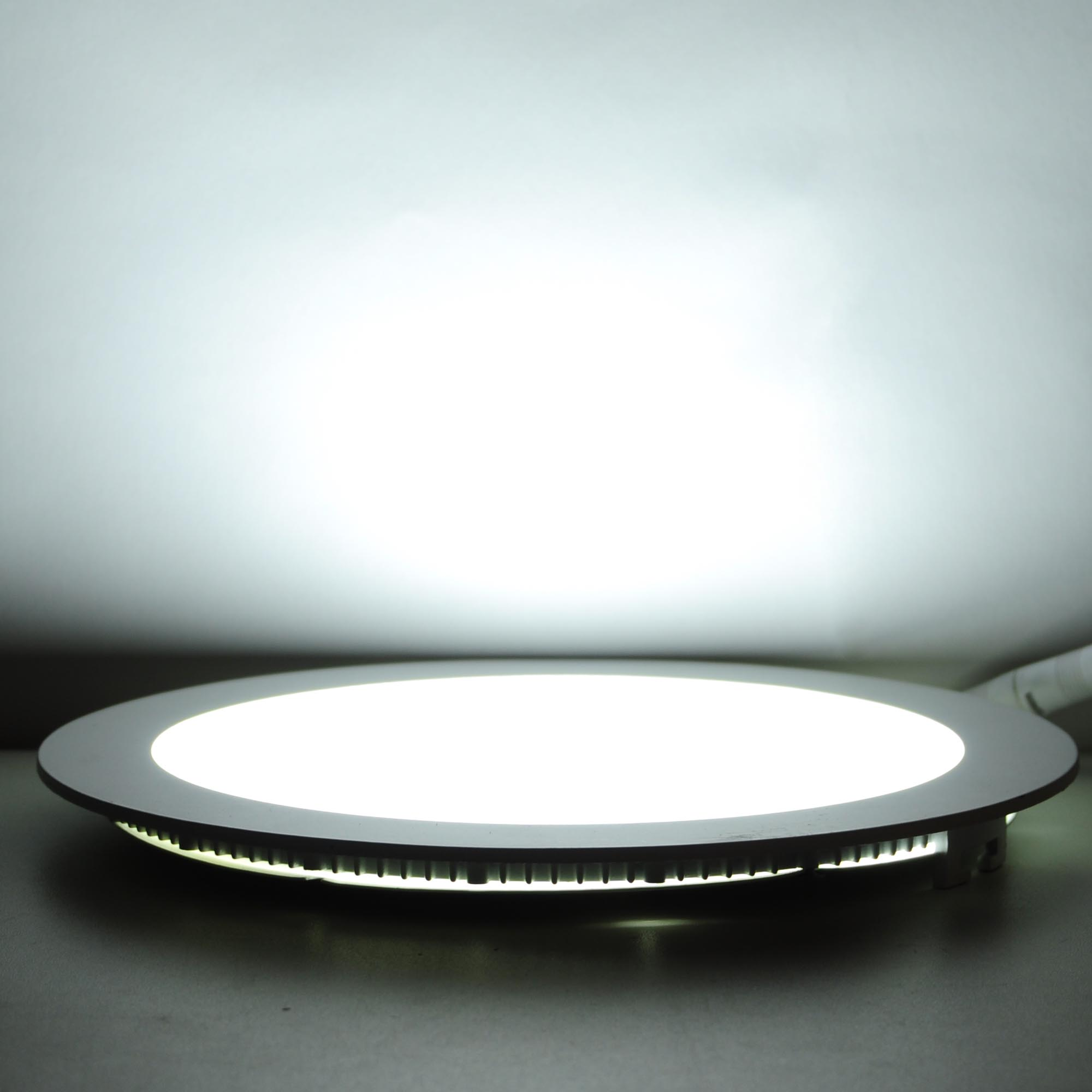 9/12/18W LED Round Recessed Ceiling Flat Panel Down Light