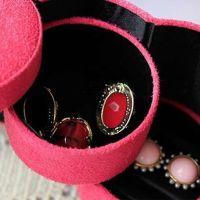 Creative Velvet Jewelry Ring Bracelet Earring Storage ...