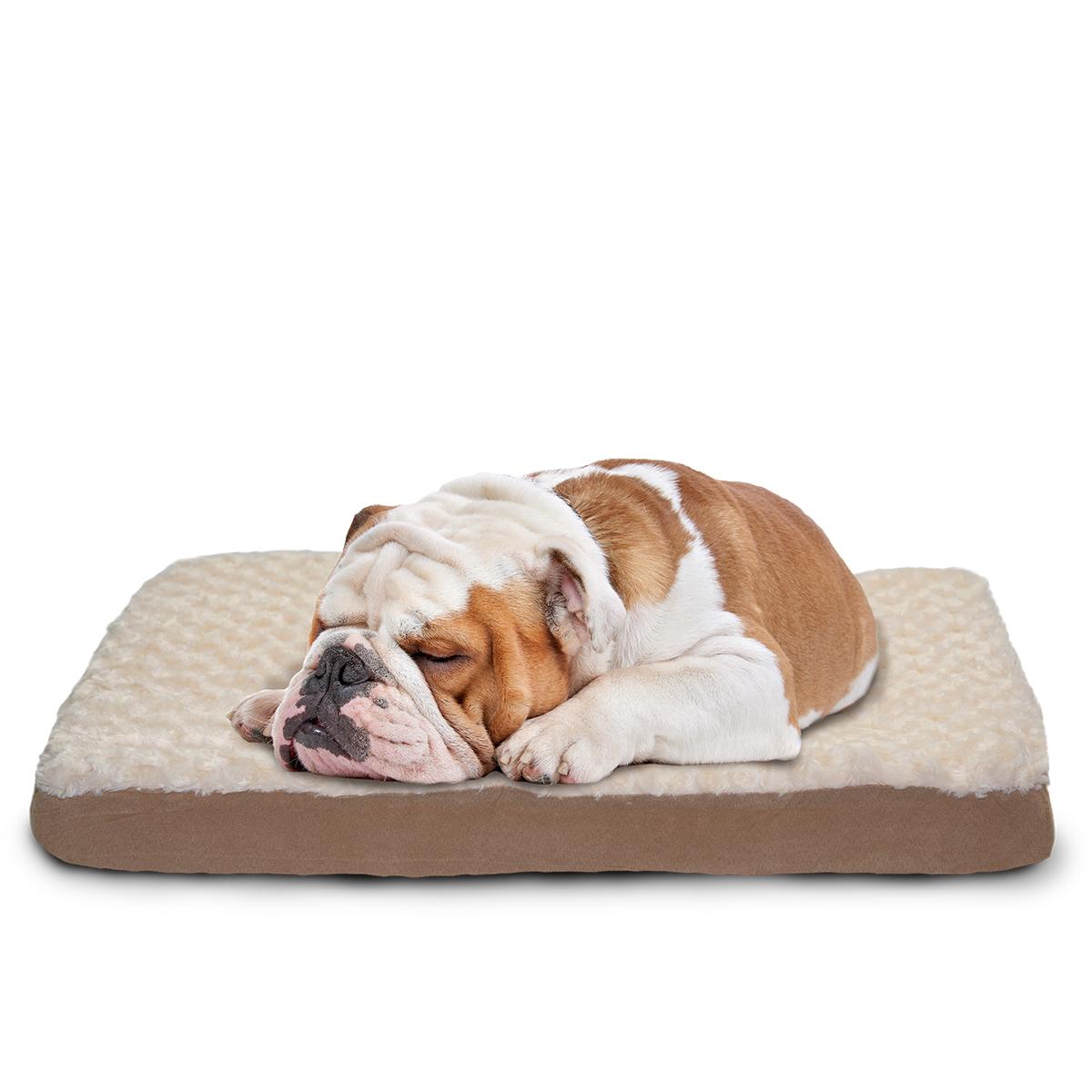 Large Dog Bed Plush Pet Mattress Washable Puppy Cushion