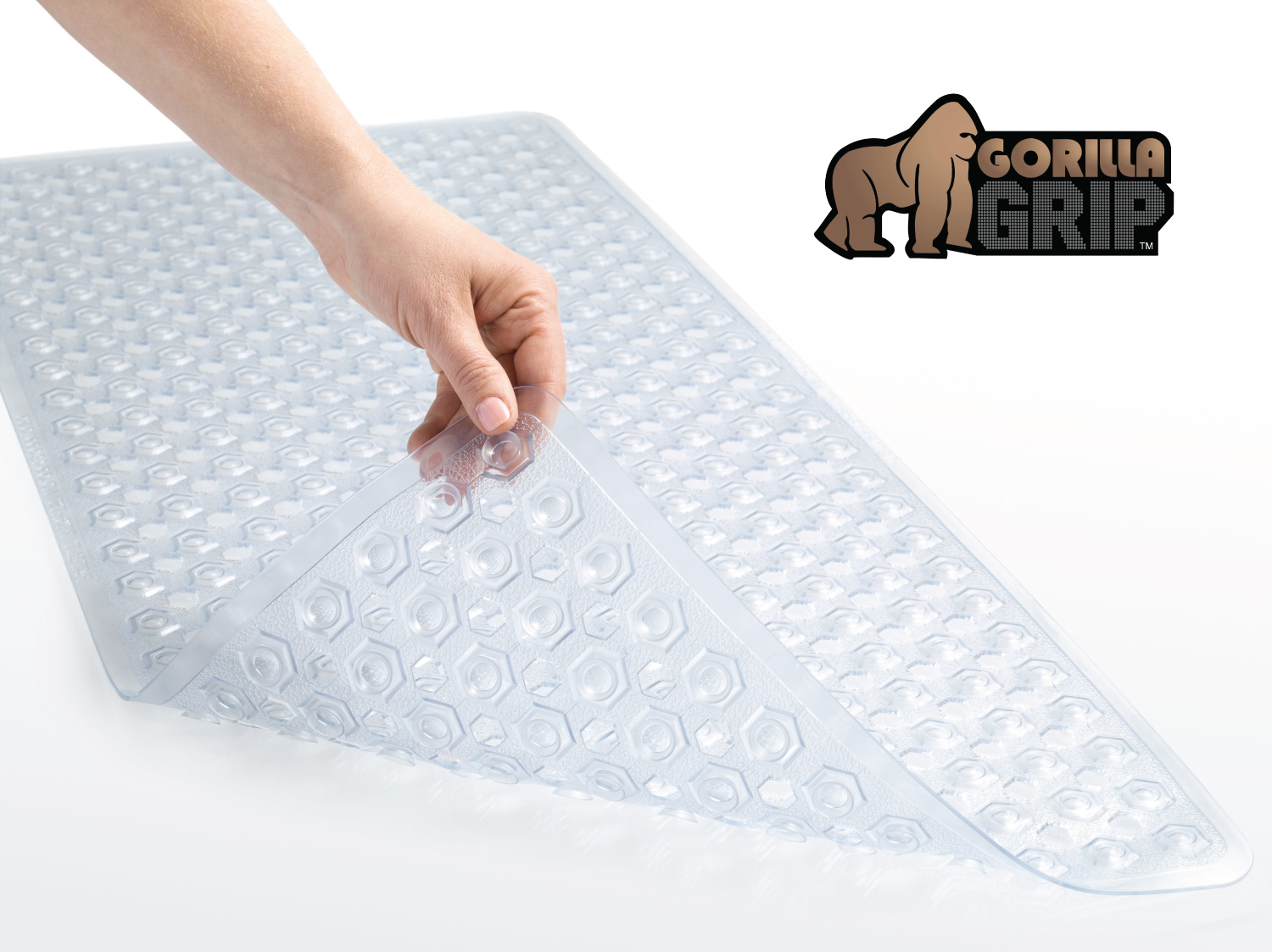 Non Slip Bathroom Mats The Original Gorilla Grip Tm Non Slip Bath Mat Fits Any
