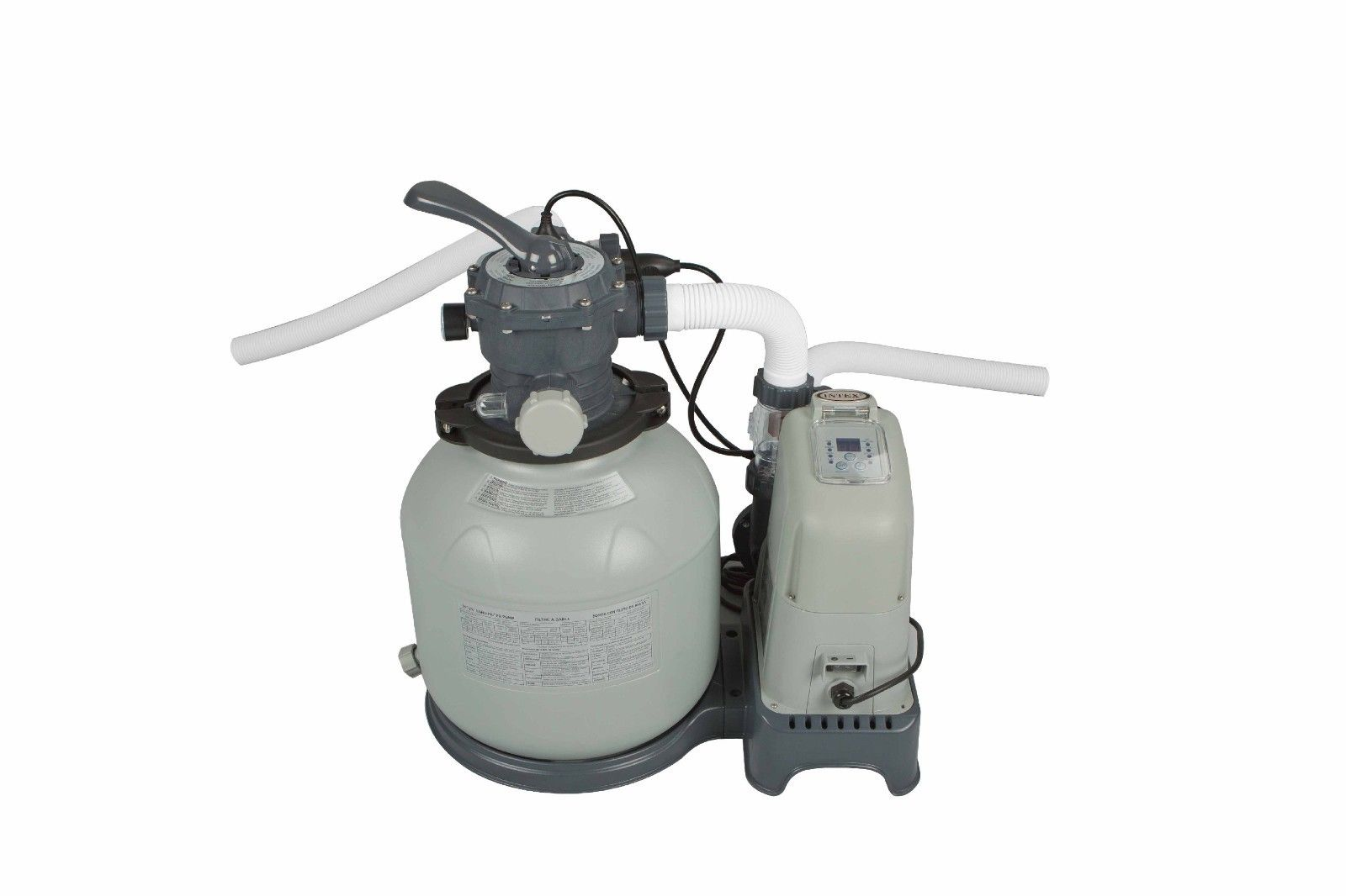 Pool Sandfilterpumpe Pure Eco Intex 1600 Gph Saltwater System And Sand Filter Pump