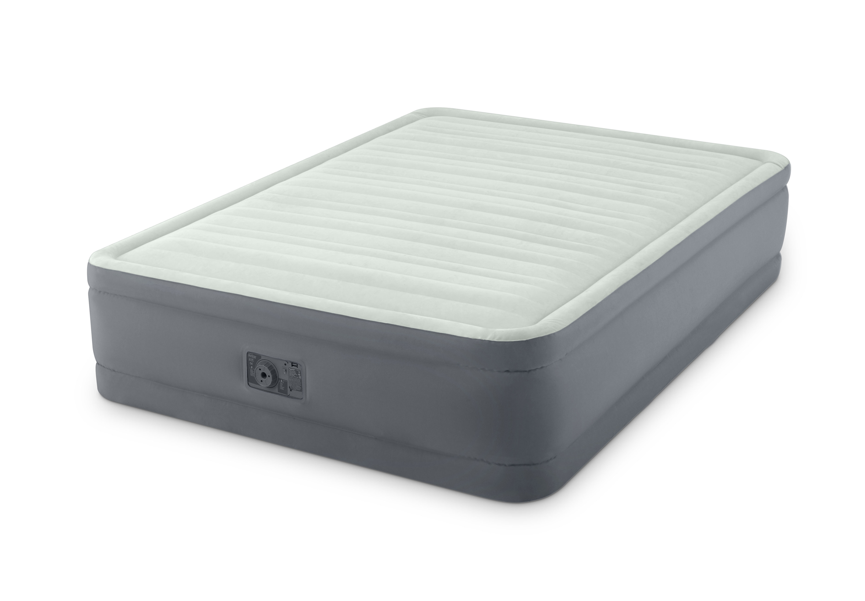 Intex Full Air Bed Details About Intex Full Size Raised Elevated Premaire Air Mattress Bed W Pump 64903e