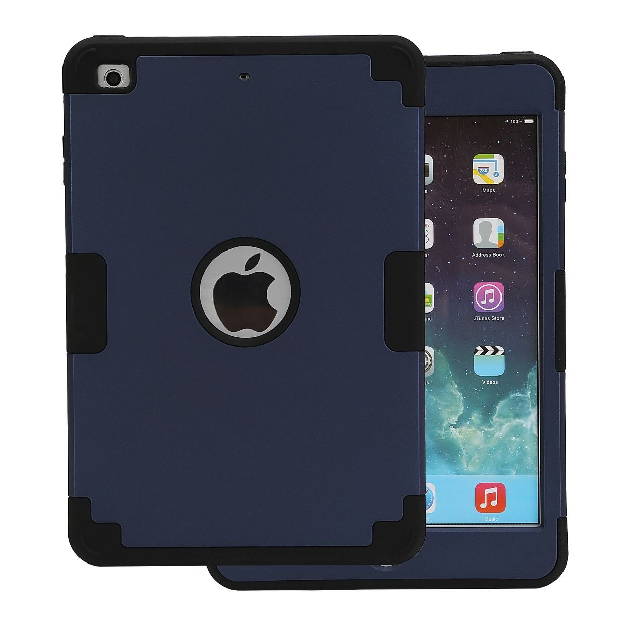 Ipad Mini Cover Shockproof Heavy Duty Military Rugged Hard Case Cover For