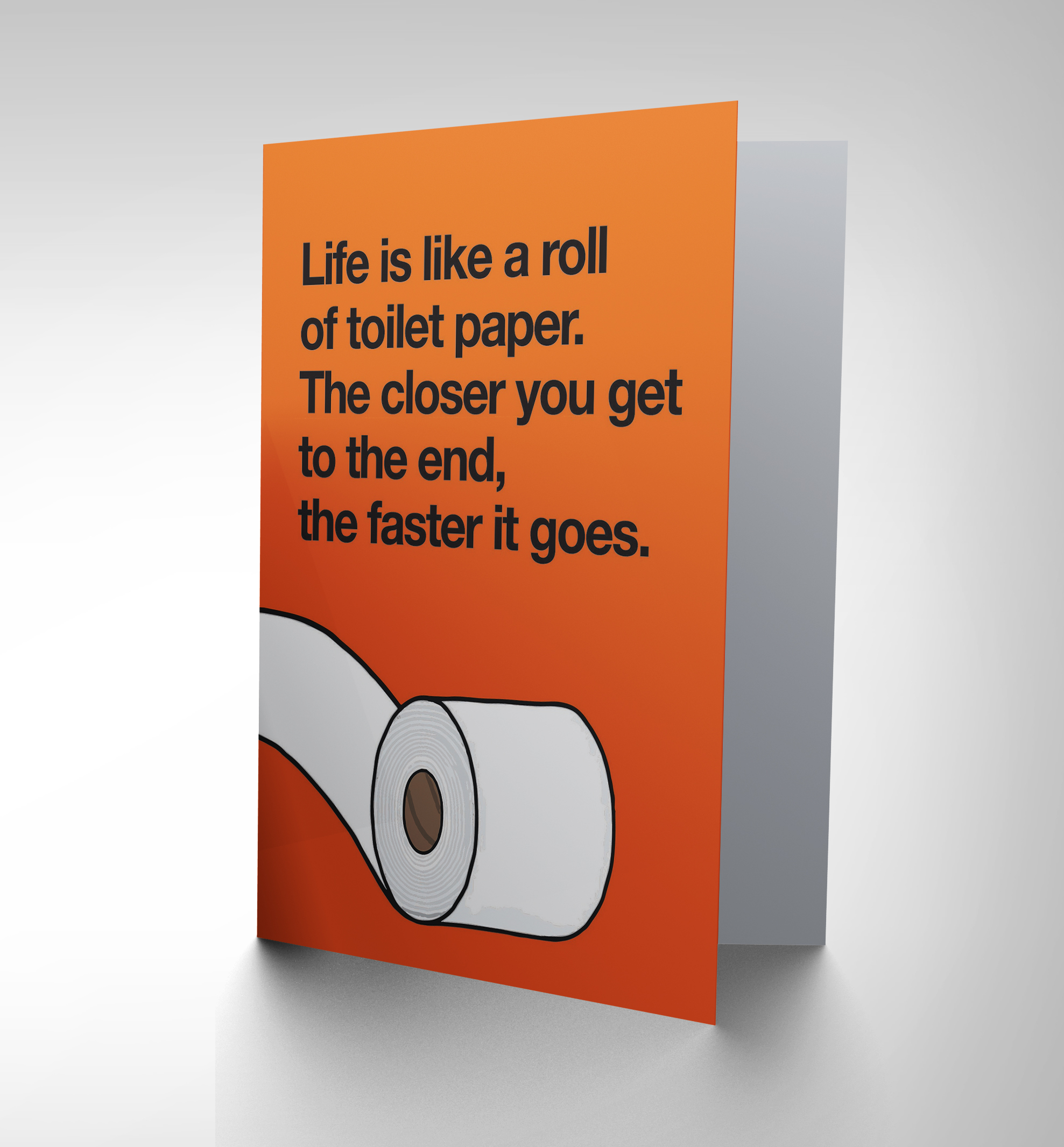 Funny Toilet Paper Birthday Toilet Paper Roll Humour Fun Art Greetings