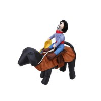 Dog Cowboy Riders Pet Clothes Doggie Puppy Cat Costume