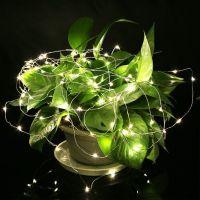 LED Draht Lichterkette Beleuchtung wasserdicht biegsam ...