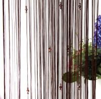 Beauty String Tassel Curtain Crystal Beads Door Window