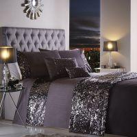 Portofino - Dazzle Glitter Duvet Bedding Set with Sequins ...