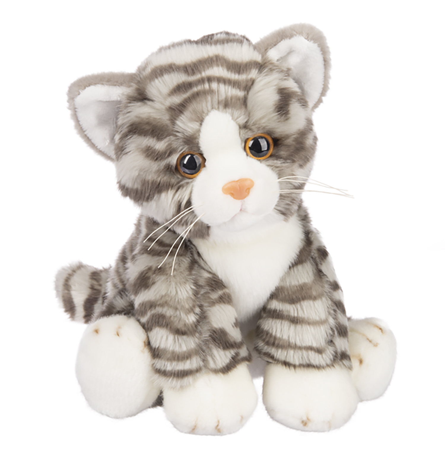 Cat Plush Toy Details About Ganz Heritage Grey Tabby Cat 12 Inch Stuffed Animal Plush Toy