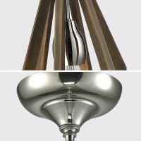 6 Lights Large Timber Wooden Ceiling Lighting Pendant Lamp ...
