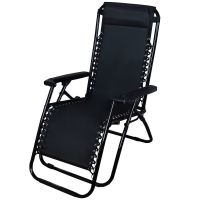 Outdoor Lounge Chair Zero Gravity Folding Recliner Patio ...