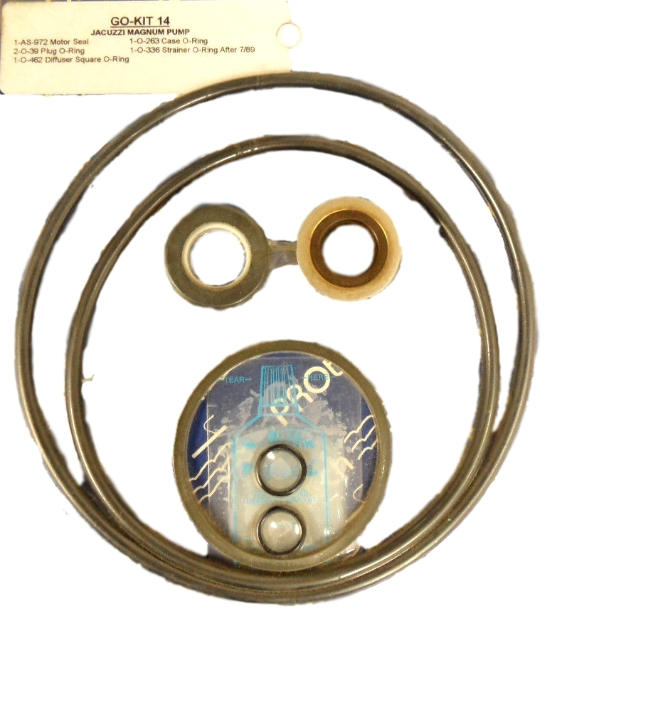 Jacuzzi Pool Pump Seal Kit Details About Protech Go Kit 14 Jacuzzi Magnum Pump Go Kit14
