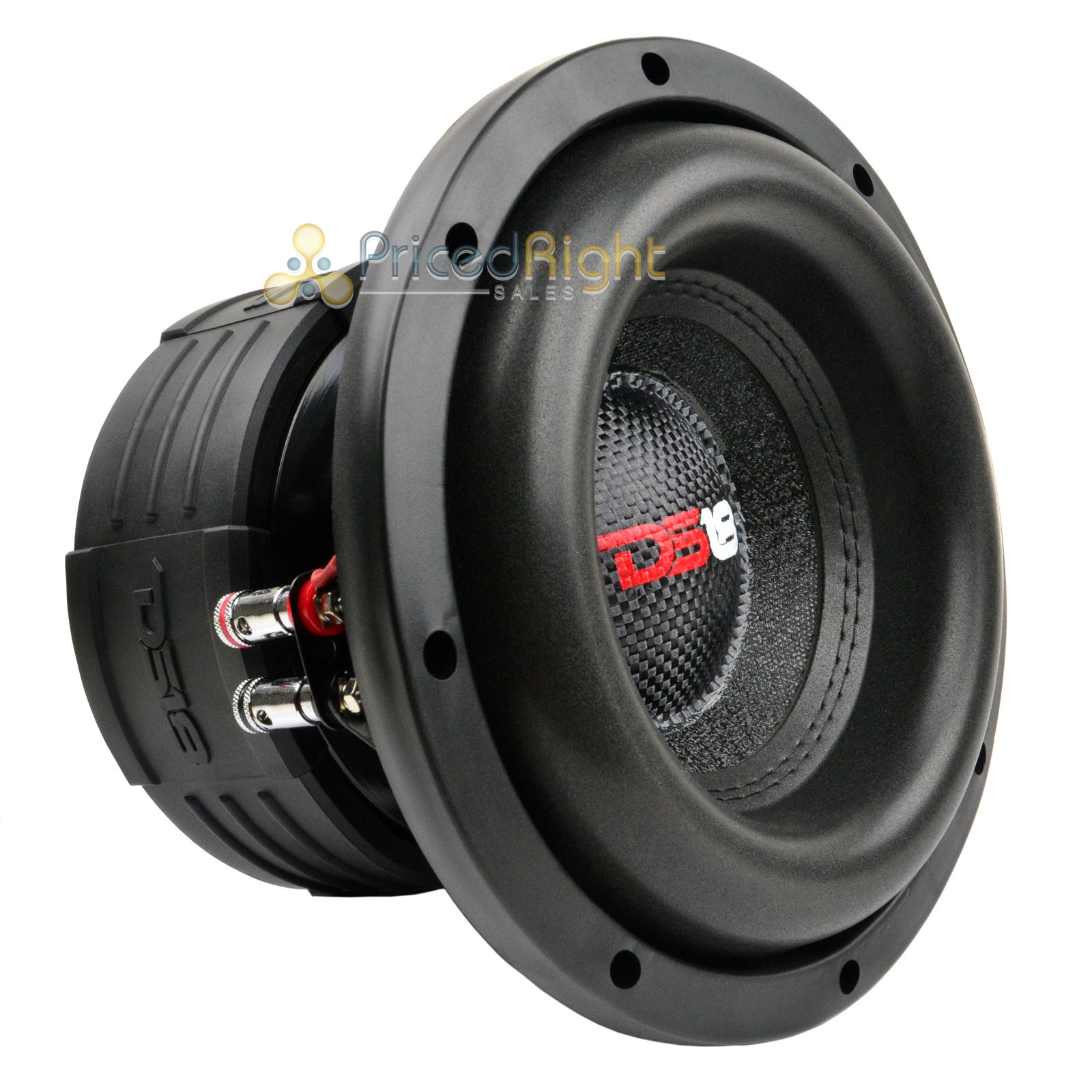 "Sub Speaker 8 Ohm Ds18 Elite Z8 8"" Subwoofer Dual 4 Ohm 900 Watts Max Bass"