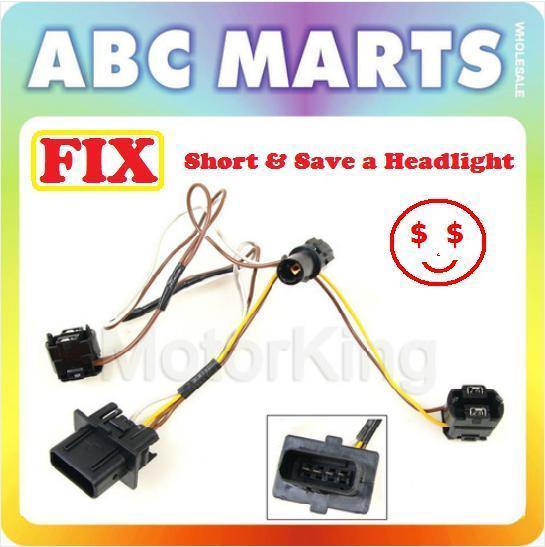 99-03 For Benz E320 E430 W210 Right Headlight Wire Wiring Harness