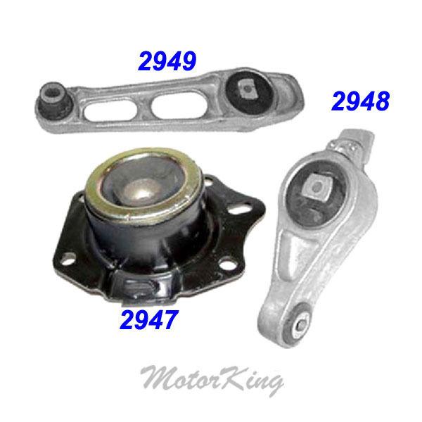 For 2002-2005 Dodge Neon 20L Engine Motor Mount Set 3PCS for Auto