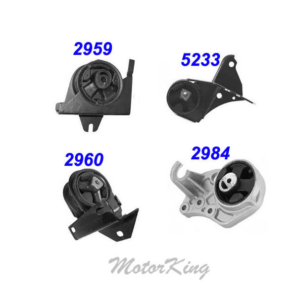 Engine Motor  Transmission Mount 2000 For Chrysler Voyager 30 33L