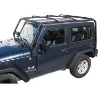 J021 Trail FX Black Roof Rack Jeep Wrangler 2 Door 2007 ...