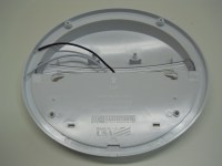 """White LED 9"""" Oval RV Trailer Camper Porch Scare Security ..."""