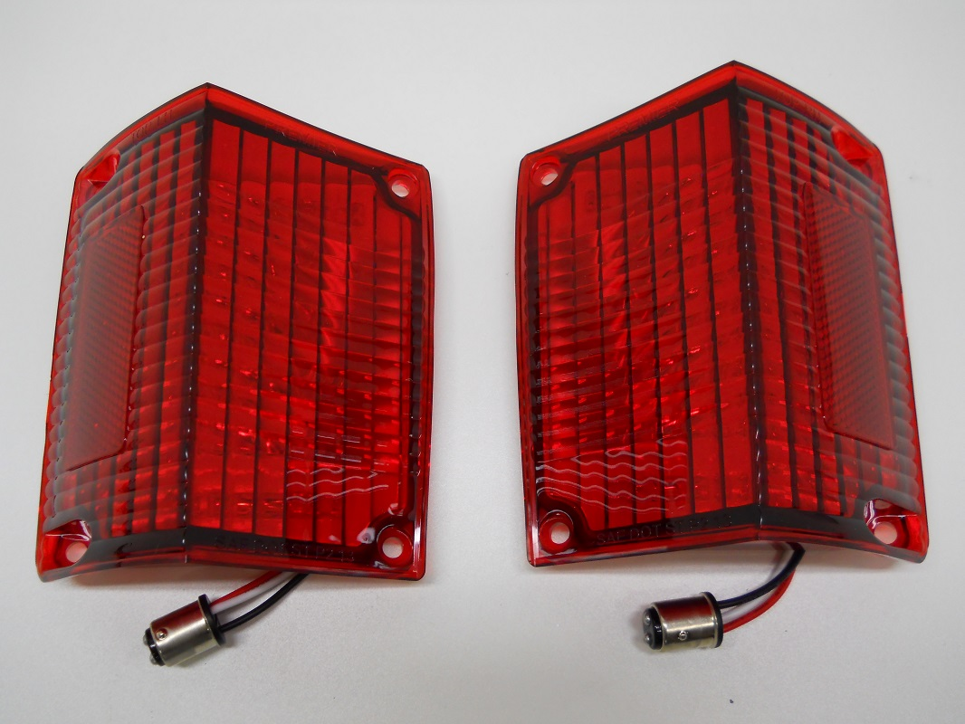 1970 El Camino Led Tail Lights Details About 1970 71 72 Chevy El Camino And Station Wagon Red Led Brake Stop Turn Tail Lights