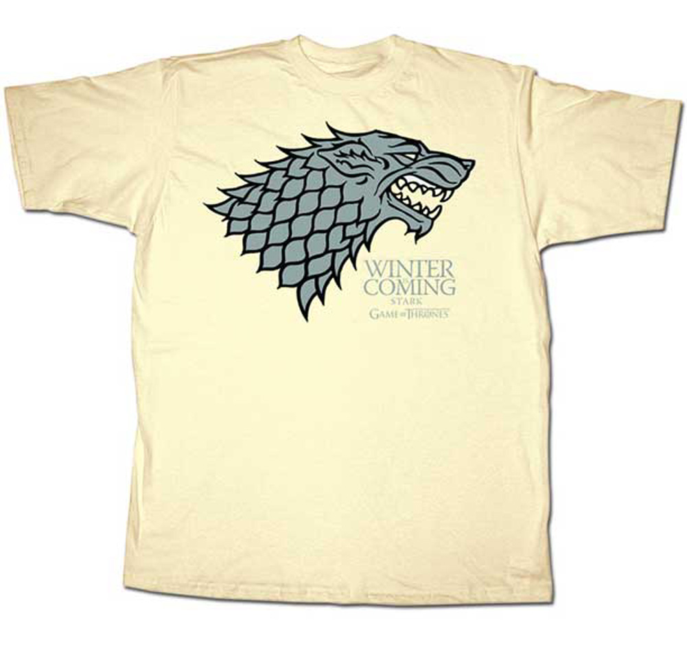 Winter Tee Details About Game Of Thrones Hbo Stark Winter Is Coming Tv Show Adult T Shirt Tee
