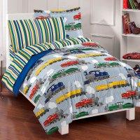 NEW Trains Boys Bedding Comforter Sheet Set Full | eBay
