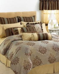 Hallmart Collectibles Bastille 24 Piece Cal King Comforter ...