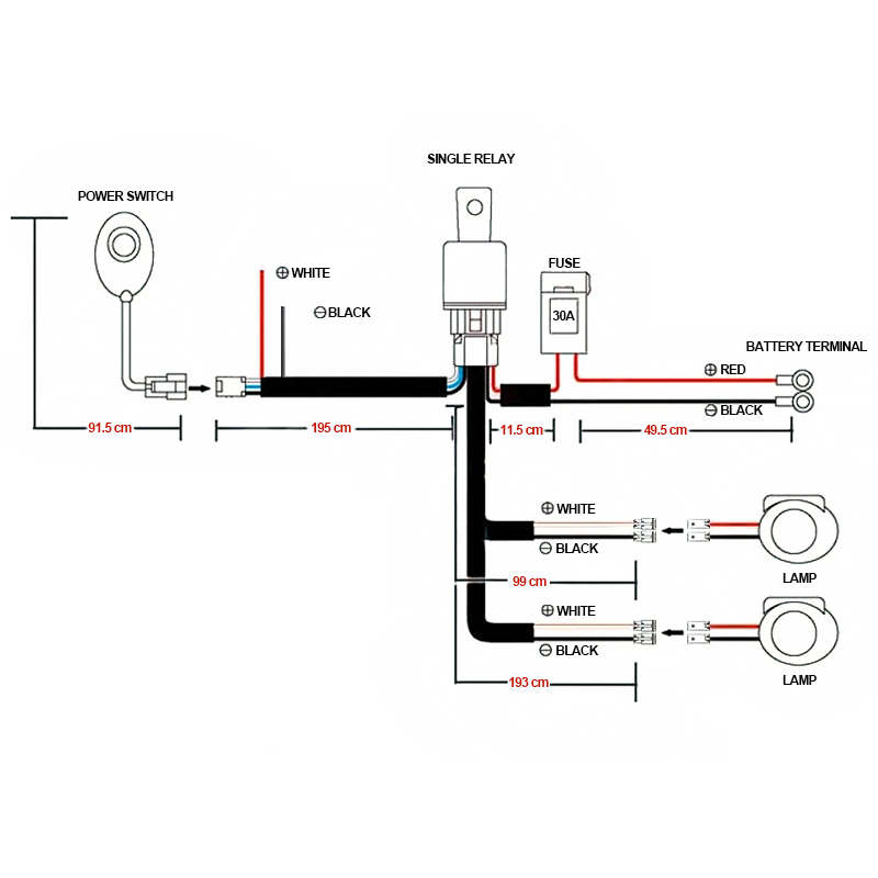 Off Road Light Wiring Harness Wiring Diagram