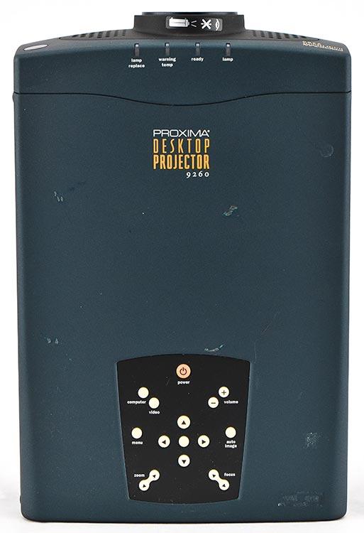 Proxima 9260 1024x768 Portable 3-LCD Multimedia Desktop Projector NO