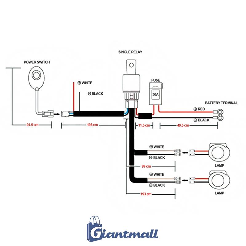 wiring diagram for led lights for trucks