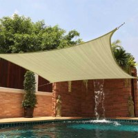 Sun Shade 12X12 Square Top Sail Beige Tan Sand for Deck ...