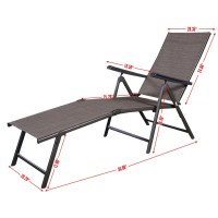 Pool Chaise Lounge Chair Recliner Outdoor Patio Furniture ...