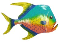 Tropical Fish Metal Wall Art Decor - Hot Girls Wallpaper